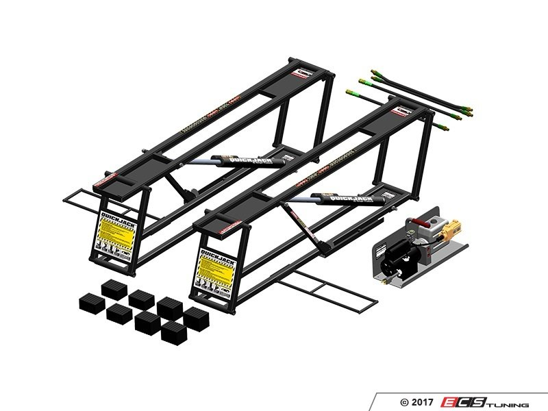Quickjack lifts now available at ecs tuning Car lift plans