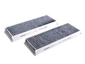 ES#3419524 - 4F0898438C - Cabin Filter / Fresh Air Filter (Charcoal Lined) - Set Of Two - Total of two filters required - Recommended replacement every 12,000 miles - Purflux - Audi