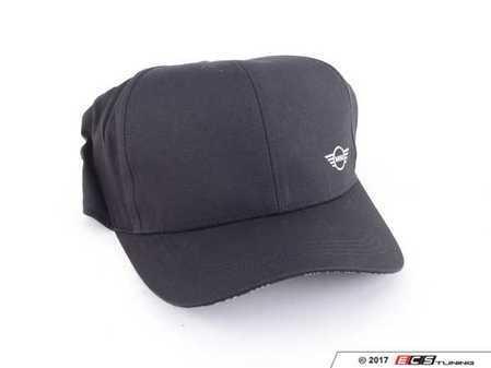 ES#3193946 - 80162445652 - MINI CAP Wings Logo - Black  - Unisex hat with curved brim and small MINI wings logo - Genuine MINI - MINI