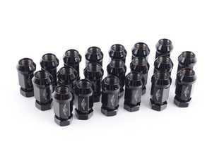 ES#3189609 - 712-645A - 19mm Race Style Lug Nuts - Pack of 20 - Unique style for studded hub applications. M14x1.5 - Dorman - Audi Volkswagen