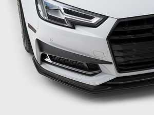 ES#3420220 - 024314ECS01 - Carbon Fiber Grille Accent Set  - Hand-laid carbon fiber to upgrade your exterior styling - ECS - Audi