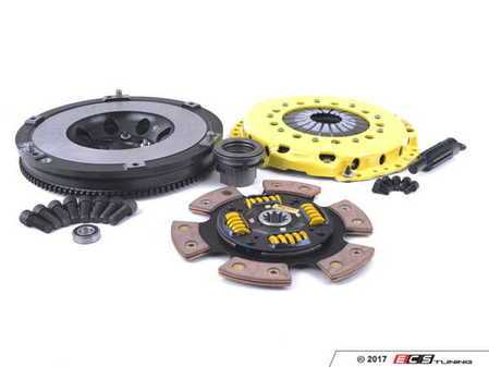 ES#3438015 - BM6-HDG6 - Heavy Duty Sprung 6-Pad Racing Clutch Kit With XACT Streetlite Flywheel - Perfect for high performance street and road racing demands. Conservatively rated up to 505 ft/lbs torque capacity. - ACT - BMW