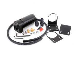 ES#3449945 - 022798TMS - Turner Build Your Own Catch Can Kit - E9x N54/E46 M3 S54/F3x N55 - A 4 chamber, baffled oil catch can complete with a universal mount and drain system! - Turner Motorsport -