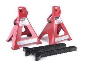 ES#3126016 - 1006D - 6-Ton Jack Stands - Pair - These jack stands have steel base pads for superior stability - Sunex - Audi BMW Volkswagen Mercedes Benz MINI Porsche