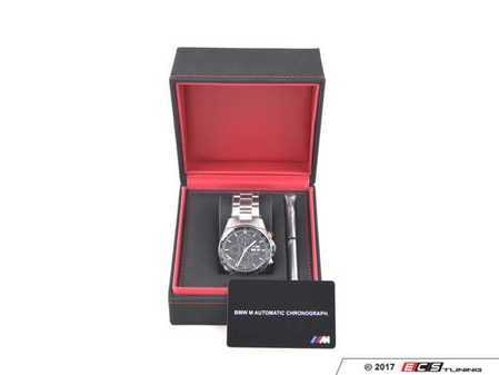 ES#3029512 - 80262406695 - BMW ///M Automatic Chronograph Wristwatch - A high quality timepiece built with the same care as your BMW - Genuine BMW - BMW