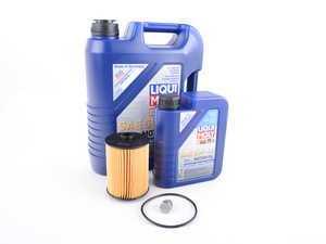 ES#2996246 - 03H115562KT5 -  Oil Service Kit - Featuring Liqui Moly 5w-40 oil - Assembled By ECS - Volkswagen