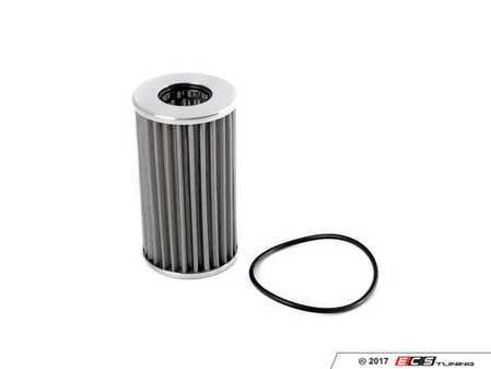 ES#3509349 - S24 - K&P Engineering High Performance Stainless Steel Oil Filter - Reusable micronic oil filter with machine finished end caps. - K&P Engineering - Porsche