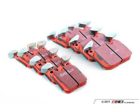 ES#3195898 - dp32130cKT - EBC RedStuff Performance Brake Pad Set - High performance street pad featuring Kevlar technology. - EBC - BMW