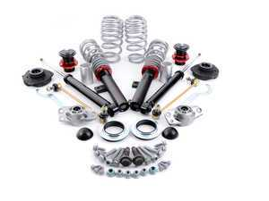 ES#3521545 - 021545ECS02KT -  ECS Street Coilover System - With Installation Kit - Includes ECS HD strut mounts along with all the necessary installation hardware for a complete suspension package! - ECS - Audi Volkswagen