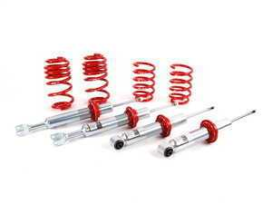 """ES#1000 - 29482-2 - Street Performance Coilover Kit - Unrivaled comfort and performance. Average lowering of 1.5""""-2.5""""F 1.25""""-1.8""""R - H&R - Audi"""