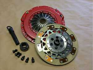ES#3468994 - 03-655BKS - Stage 2 6 Speed Kevlar Clutch Pack - Replacement performance pressure plate and disc: Kevlar friction - JM Turbo Coopers - MINI