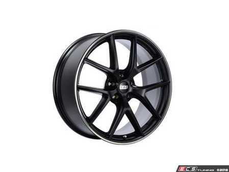 "ES#3514222 - ci2102bpoKT - 19"" Style CIR 2102 Wheels - Square Set Of Four - 19x8.5 5x120 ET35 PFS in Satin Black with a polished rim protector. - BBS - BMW MINI"