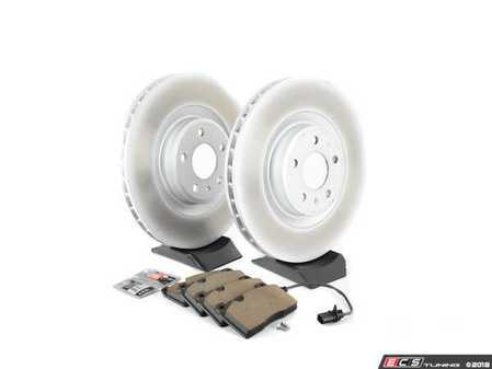 ES#2762580 - 8K0615301MKT3 - Front Brake Service Kit - Featuring Genuine rotors and pads - Assembled By ECS - Audi