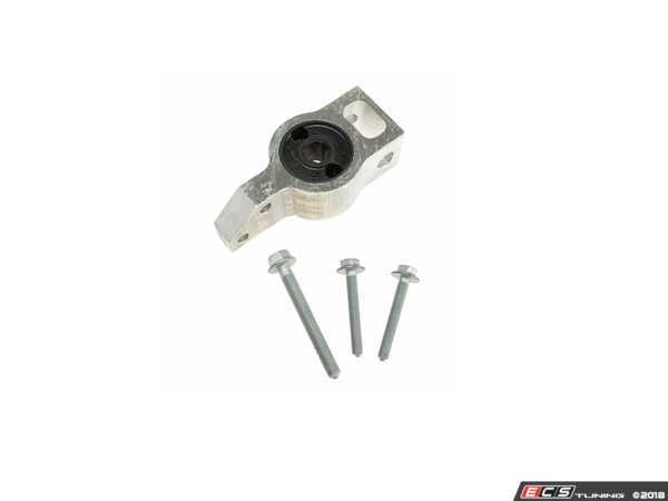 ES#3523410 - 3C0199231E - Control Arm Mount - Priced Each - Replace worn down mounts and improve your ride. Fits both the left and right side - Includes hardware - Meyle HD - Volkswagen