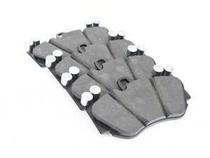 ES#2549872 - 95535193951 - Front Brake Pad Set - Meyle semi-metallic brake pads - Meyle - Audi Porsche