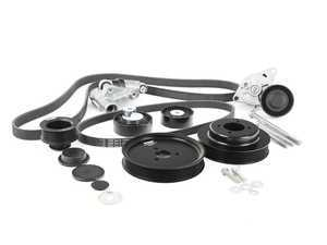 ES#3509738 - uppk-s54KT - S54 Turner Motorsport Ultimate Power Pulley And Drive Belt Overhaul System - Includes Accessory Belt System! - Assembled By ECS - BMW