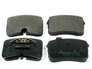 ES#1831 - MDB1517D - Front Red Box Brake Pad Set - Restore the stopping power of your vehicle - Mintex - Audi