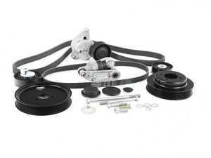ES#3521542 - uppk-Zs54KT - S54 Turner Motorsport Ultimate Power Pulley And Drive Belt Overhaul System - Includes Accessory Belt System! - Assembled By ECS - BMW
