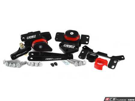 ES#3523641 - 016372ECS0202KT -  ECS Performance Drivetrain Mount Kit (Version 2 insert) - Includes ECS Performance Pendulum Mount, Subframe Insert, Engine and Trans Mounts & Installation Hardware - ECS - Audi Volkswagen