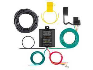 ES#3484879 - 59236 - Multi-Function Powered Taillight Converter Kit - Converts 2-wire, 3-wire or PWM ST system to 2-wire trailer light wiring - includes wiring kit #55152 - Curt Trailers - Audi Volkswagen MINI Porsche