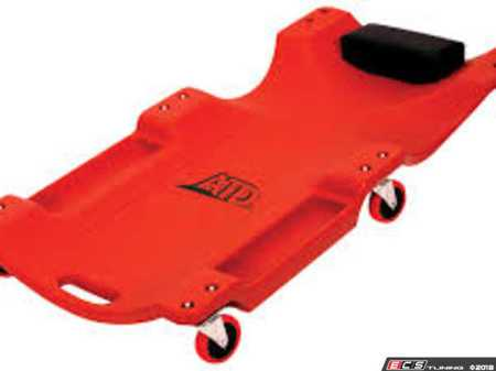 ES#2939091 - ATD81051 - Blow Molded Heavy Duty Creeper - Great creeper with tool pockets. - ATD Tools -