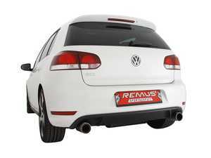 ES#3524869 - 956008 - Axle Back Sport Exhaust System - Stainless steel system with your choice of dual exhaust tips - Remus - Volkswagen