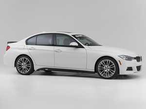 ES#3537591 - 024593TMS01 -  Turner Motorsport Carbon Fiber High kick Rear Spoiler - Smooth carbon, high kick - accentuates F30 and F80 M3 body lines! - Turner Motorsport - BMW