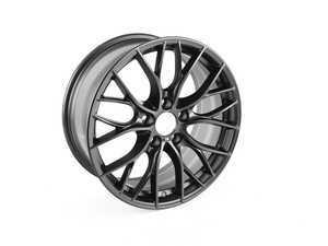 "ES#2781343 - 36116865157 - 18"" Double Spoke Style 405 Matte Black Wheel - Priced Each - 18x8 ET 34 72.6 CB - Genuine BMW - BMW"