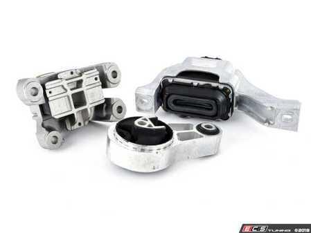 ES#2593197 - 22116783094KT3 - Drivetrain Mount Kit - Complete engine / drivetrain mount replacement kit - Assembled By ECS - MINI