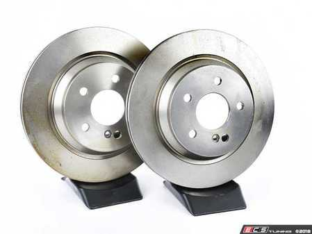 ES#2618810 - 2304230412KT1 - Rear Brake Rotors - Pair - Restore the stopping power in your vehicle - ATE - Mercedes Benz
