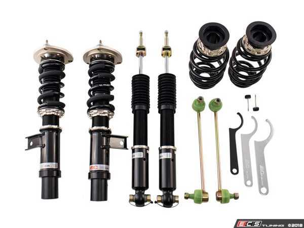 ES#3521683 - H-36-BR - BR Series Coilover Suspension Kit - Featuring 30 levels of adjustment and performance spring rates and valving - BC Racing - Volkswagen