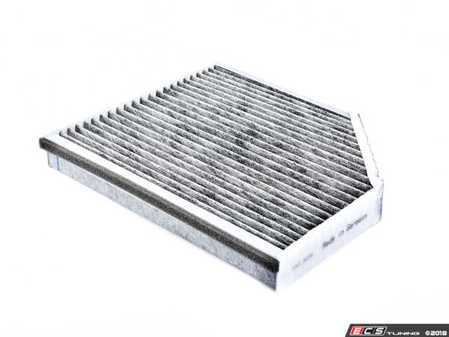ES#2876589 - 8K0819439B - Charcoal Lined Cabin Filter / Fresh Air Filter - The activated charcoal filters odor from reaching the cabin - Febi - Audi