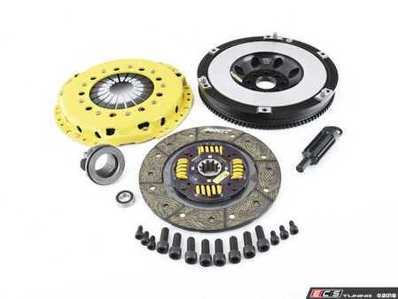 ES#3438007 - BM4-HDSS - ACT Street Performance Clutch & Single Mass Flywheel Conversion Kit - E46 M3 - Perfect for aggressive street and moderate racing demands. Conservatively rated up to 395 ft/lbs torque capacity. - ACT - BMW