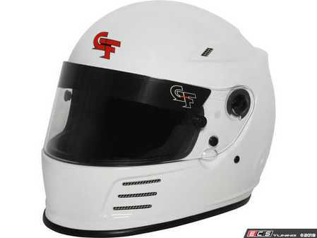 ES#3525000 - REV3410WH - Revo Full-Face - White - A Snell approved helmet for uncompromising safety on the track. - G-Force - Audi BMW Volkswagen Mercedes Benz MINI Porsche