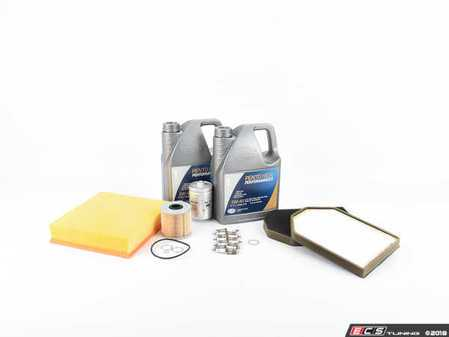 ES#250680 - D2S840KKTE - ECS Tuning 40k Service Kit - Everything you need to perform the recommend 40k mile service on your Audi - Assembled By ECS - Audi