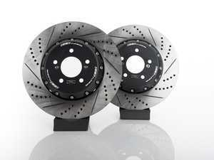ES#3183514 - 004383ecs02aKT1 - 2-Piece Rear Brake Rotors - Pair (370x24) - Direct bolt-on replacement - 2-piece semi-floating rotors! - ECS - BMW