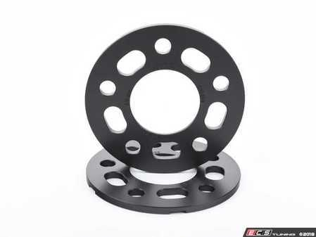 ES#3476425 - 021460TMS02-06 - 7.5mm Wheel Spacers - Black (Pair) - Lightweight wheel spacers with a machined tab for easy removal - Turner Motorsport - Audi BMW Mercedes Benz MINI Porsche