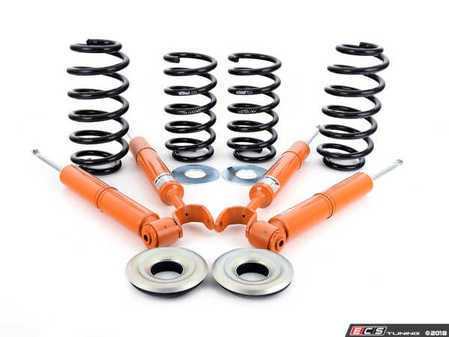 ES#3022768 - 11251001 - 1125 STR.T Suspension Kit - Approximate lowering height of 35mm front and rear. Includes 4 shocks & 4 lowering springs - Koni - Audi