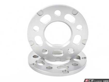 ES#3476426 - 021460TMS02-07 - 10mm Wheel Spacers - Silver (Pair) - Lightweight wheel spacers with a machined tab for easy removal. Pair with hub extenders to comprehensively eliminate fitment problems common with most 10mm spacers! - Turner Motorsport - Audi BMW Mercedes Benz MINI Porsche