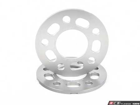 ES#3476424 - 021460TMS02-05 - 7.5mm Wheel Spacers - Silver (Pair) - Lightweight wheel spacers with a machined tab for easy removal - Turner Motorsport - Audi BMW Mercedes Benz MINI Porsche