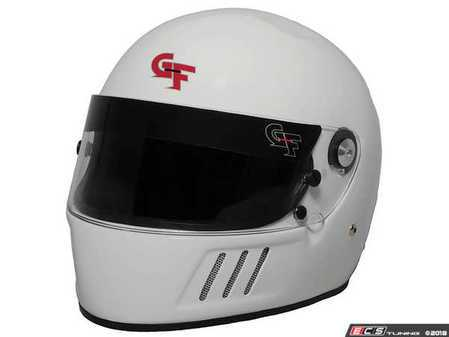 ES#3534522 - GF3123WH - GF3 Full Face Helmet - White - A full face helmet with an incredible feature set. - G-Force - Audi BMW Volkswagen Mercedes Benz MINI Porsche