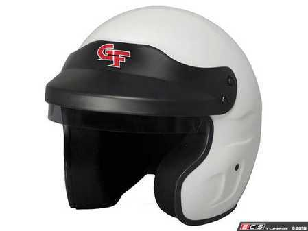 ES#3536147 - GF3121WH - GF1 Open Face Helmet - White - Traditional open-face design for a more relaxed and comfortable fit. Makes it easier to communicate with a co-driver or passenger. - G-Force - Audi BMW Volkswagen Mercedes Benz MINI Porsche