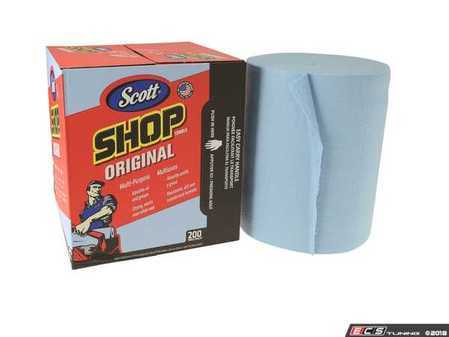 "ES#2944007 - KIM75190 - 10""x12"" Shop Towels - Box of 200 - Center-pull box, 200 sheets per box of multi-purpose shop towels - Kimberly Clark - Audi BMW Volkswagen MINI Porsche"