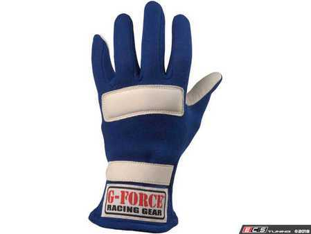 ES#3536408 - GF4101BU -  G5 Gloves - Blue - Get a grip with proper driving gloves and keep lap times from slipping through your fingers. - G-Force - Audi BMW Volkswagen Mercedes Benz MINI Porsche