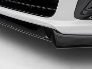 ES#3487318 - 021104ecs01-02KT - 3-Piece Front Splitter - Gloss Black Fiberglass - Add an aggressive, lower appearance to your front bumper - ECS - Volkswagen
