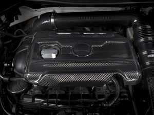 ES#3559564 - 015436ecs12KT - OE Style Carbon Fiber Engine Cover (2.0T TSI) - Enhance your engine bay with our OE-Style Carbon Fiber Engine Cover - ECS - Volkswagen