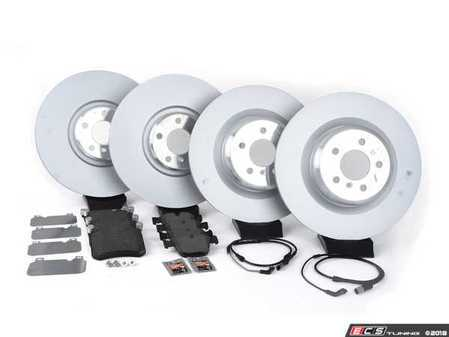ES#3478030 - 341167890KT - Front And Rear Brake Service Kit - Featuring Genuine BMW rotors with Pagid pads - Assembled By ECS - BMW