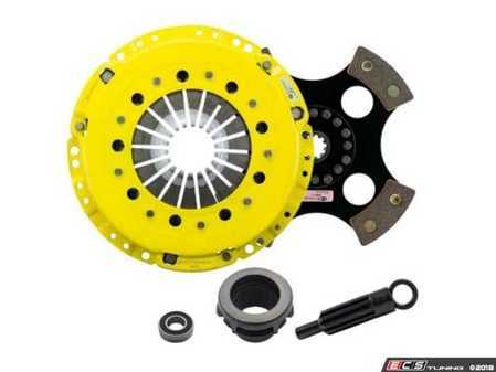 ES#3437987 - BM11-HDR4 - Heavy Duty 4-Pad Rigid Racing Clutch Kit - Perfect for aggressive racing demands. Conservatively rated up to 505 ft/lbs torque capacity. - ACT - BMW