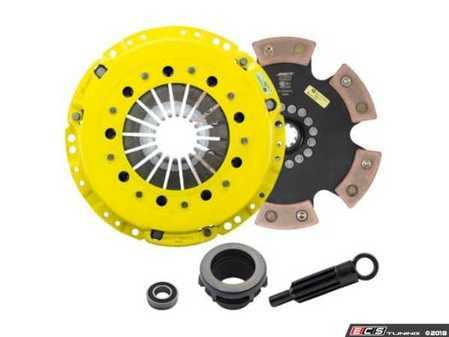ES#3437988 - BM11-HDR6 - Heavy Duty Rigid 6-Pad Racing Clutch Kit - Perfect for aggressive drag and road racing demands. Conservatively rated up to 505 ft/lbs torque capacity. - ACT - BMW