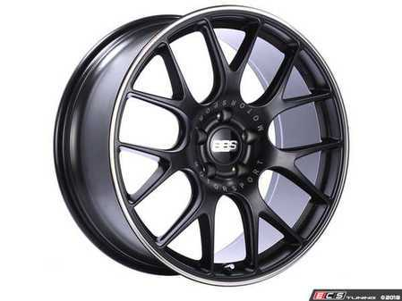 """ES#3537171 - 20schrbpoKT - 20"""" CH-R Wheels - Staggered Set Of Four - 20x9 ET24 and 20x10.5 ET24 PFS in Satin Black with a polished lip. - BBS - BMW"""